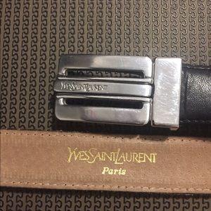 YSL men's belt.